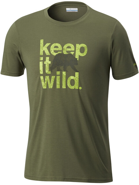Columbia Miller Valley - T-shirt manches courtes Homme - olive